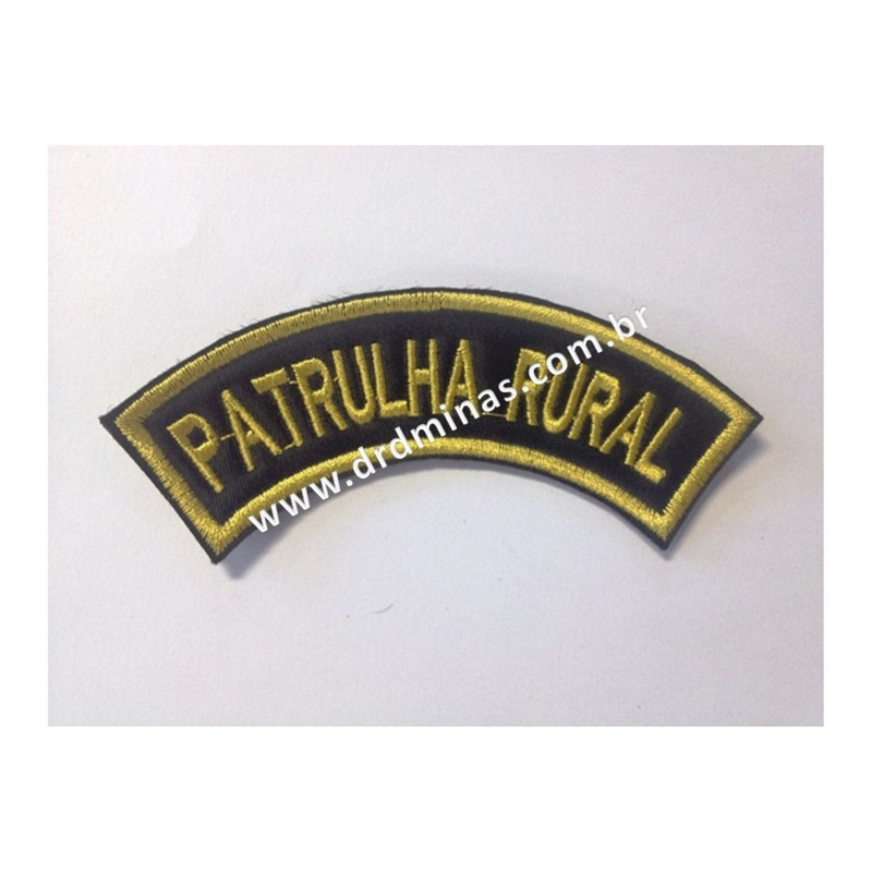 Patch / Distintivo Bordado Patrulha Rural  - U