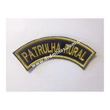 Patch / Distintivo Bordado Patrulha Rural  - U