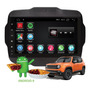 Central Multimídia Jeep Renegade Android 9.0 2017 2018 2019