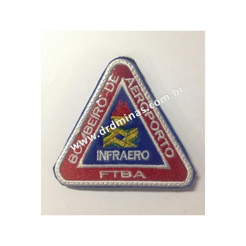 Patch / Distintivo Bordado INFRAERO - I