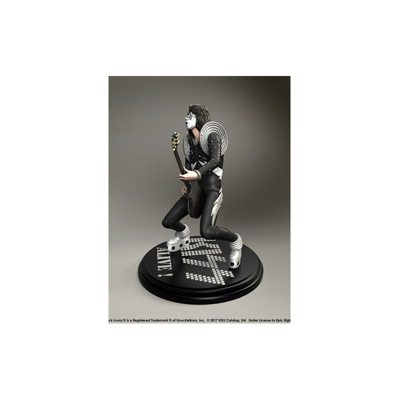 Estátua Kiss The Spaceman - Alive! KnuckleBonz - Rock Iconz Statue