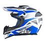 Capacete Motocross X11 Atomic Bull Trilha Cross