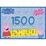 Peppa Pig Prancheta Para Colorir Com 1500 Adesivos