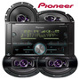 Som Pioneer Mvh s618bt iPhone Android Usb Falantes 6 E 6x9