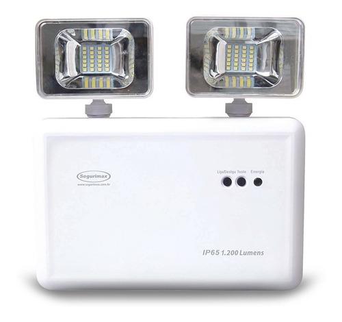 Luminária Emergência Ip65 Frigoríficos Hospitais Resist Água  Bivolt 110/220v Comercial Industrial Residencial Lanterna Original