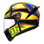 Capacete Agv K1 Mugiallo Vr46 Valentino Rossi Original