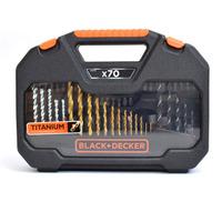 Kit de Brocas e Bits para furar e parafusar com 70 peças A7184-XJ