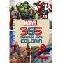 Livro Para Colorir Infantil Heróis Marvel Vingadores 365 Off