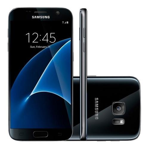 Samsung Galaxy S7 G930f Câm 12mp Preto 32gb (vitrine) Original