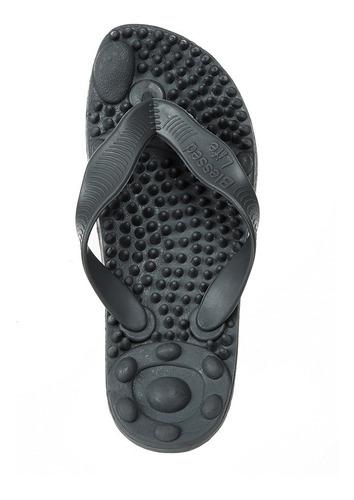 Sandália Em Gel Massageadora Ortopédica 12 X S/juros Original