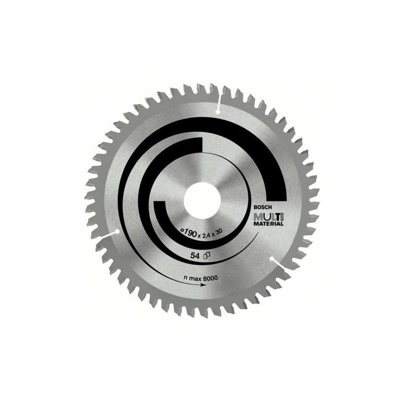 "Disco de Serra Multimaterial 9.1/4"" 235x 2 x 25 T80 - Bosch"