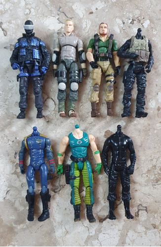 Gi Joe 25th- Lote De Figuras Original