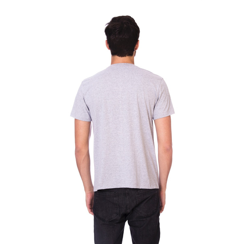 Camiseta Long Island Caveira Cinza