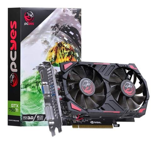 Placa De Video Pcyes Geforce 2gb Gtx 750ti Gddr5 128bits Original