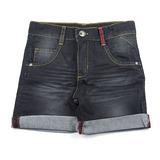 Bermuda Jeans Escuro Ser Garoto