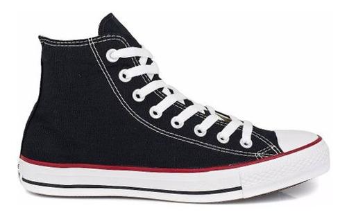Tênis Converse Ct112128 Preto/vermelho Original