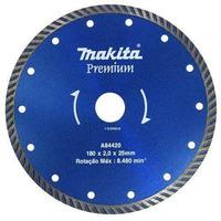 Disco Diamantado Turbo 180mm Makita p/ Mármore-Granito a Água/Seco