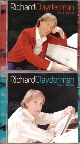 2 Cd´s Duplos Richard Clayderman -vol. 1 E 2 Duplos Original