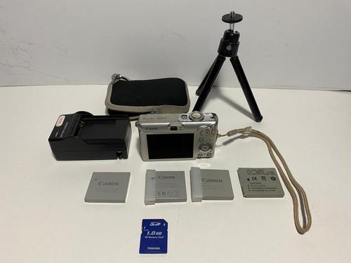 Máquina Fotografica Canon Power Shot Sd600 6.0 Mp Usada Original
