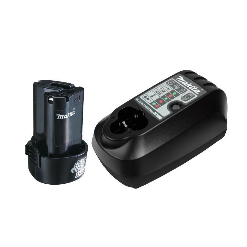 Parafusadeira e Furadeira de Impacto 12V + 2 Baterias + Maleta + Acessórios - HP330DBR
