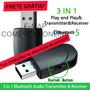 Adaptador Tv Audio Fone Ouvido Sem Fio Bluetooth P2 Kn330