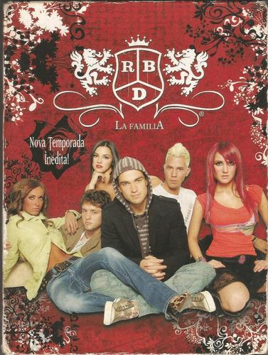 Rbd Rebelde - La Familia - Box 3  Dvd - Ver O Video