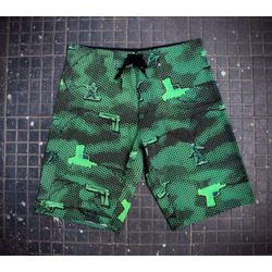 Boardshort CHRONIC® Green Guns