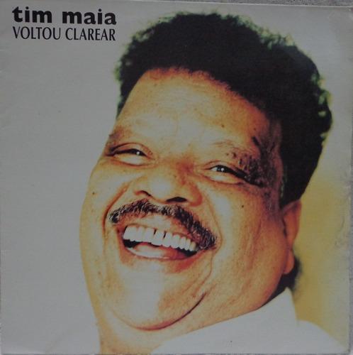 Lp Vinil-tim Maia(voltou Clarear)1994-encarte-vitória Régia