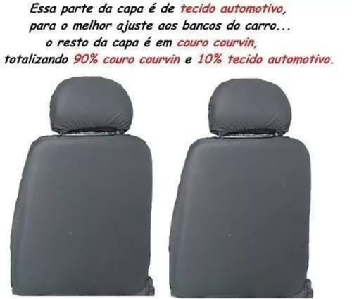 Capa Para Banco De Carro Couro Courvin Voyage 1999 4