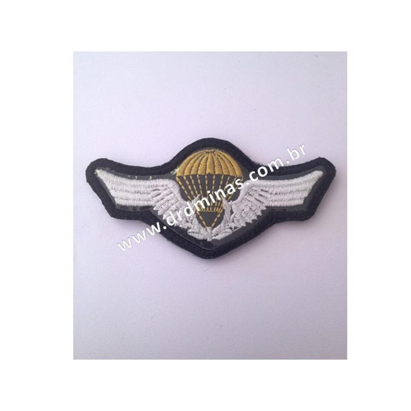 Distintivo Bordado Paraquedista