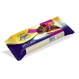 Bolos com recheio de geleia de framboesa e cobertos com chocolate - Tago