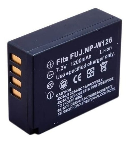 Bateria Np-w126 Para Fuji X-t10 X-t1 X-t2 X-m1 X-e1 X-e2 Original