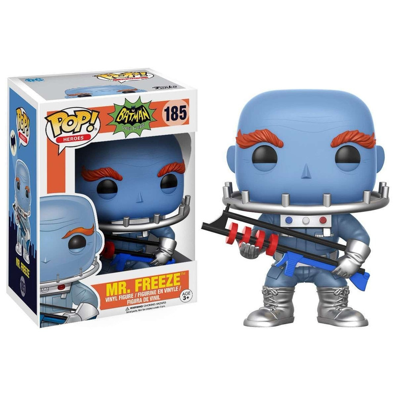 Mr. Freeze Pop Funko - Sr Gelado - Batman Classic Tv Series