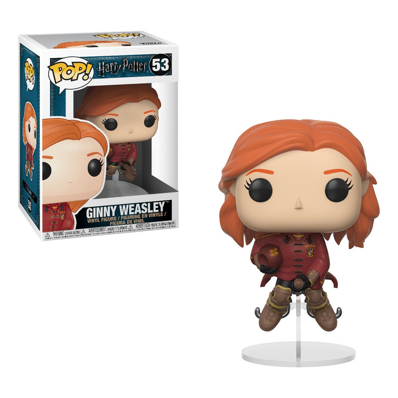 Ginny Weasley on Broom Pop Funko #53 - Harry Potter - Movies