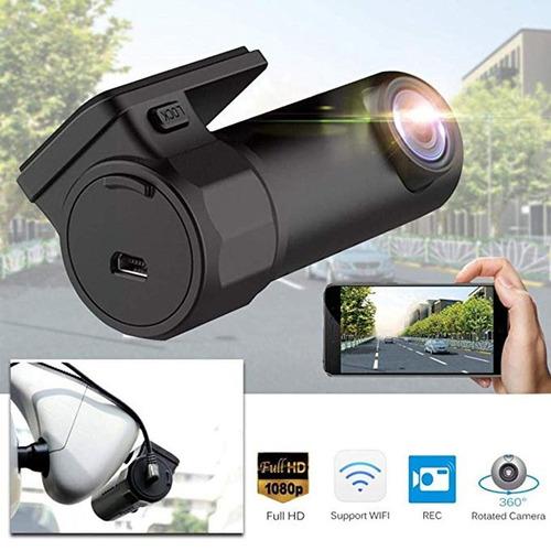 Câmera Veicular Wifi 1080 Fhd Com Visão Noturna E G-sensor
