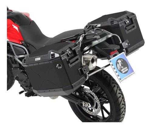 Bau Moto Bmw Gs 800 08/18 Lateral 77lts Hepco&becker Preto Original