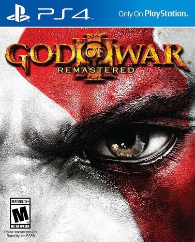 God Of War 3 Remasterizado - Psn Ps4 Original 1 - Envio Já
