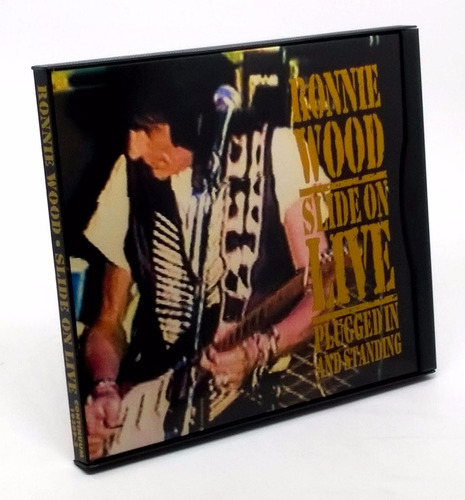 Cd Ronnie Wood Slide On Live Plugged In And Standing 1993 Original