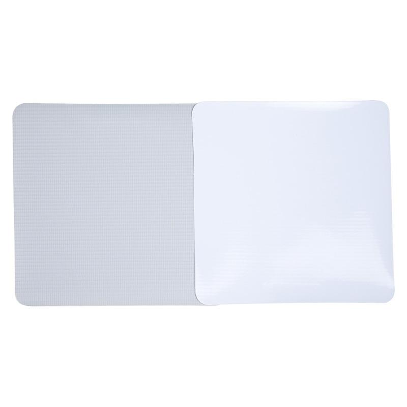 Lona para impressão digital Unifront branca brilho avesso cinza (380 g) larg. 1,10 m
