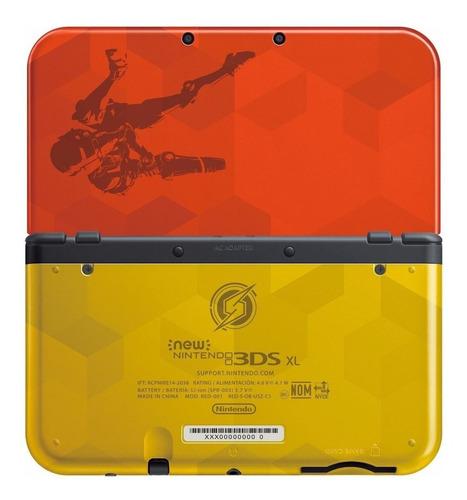 Nintendo New 3ds Xl Samus Edition Vermelho E Dourado Original