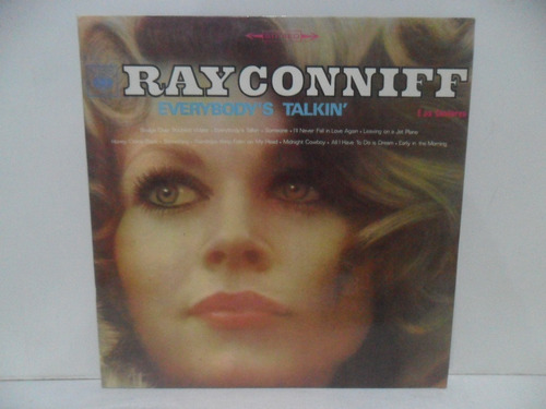 Lp Vinil - Ray Conniff E Os Cantores Everybodys Talkin 1970 Original