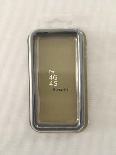 Capa Case Bumper iPhone 4 / 4 S Lateral Transparente Original