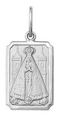 Medalha, 25 Imagens De Santos Ouro Branco 18k Rt1 O-1,5cm Original