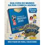 Kit Cartela Figurinhas Copa Do Mundo Fifa 2018 12 Envelo