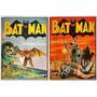 Hq Batman Coleção Invictus Extra Nº 1 E 2 Formatinho 1993