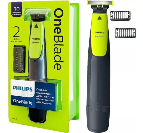 Barbeador Elétrico Philips One Blade Oneblade Qp2510/10 Original