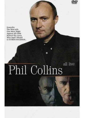Dvd - Phil Collins All Live Original