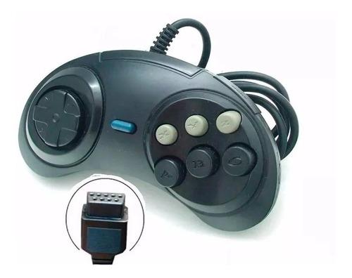 Controle Joystick Mega Drive Master System Sega Tec Toy G25 Original