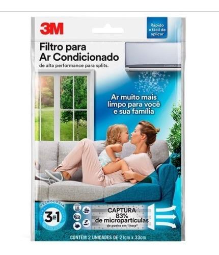 Filtro De Alta Performance Para Ar-condicionado Split 3m Original
