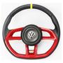 Volante Vermelho Golf Gti De Buggy, Fusca, Etc C/ Cubo